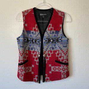 Pendleton Women's Southwestern Wool Vest